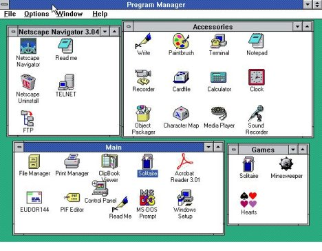Windows 3.11 Bites the Dust
