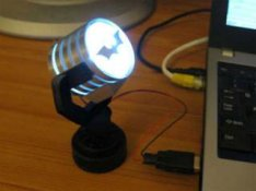 USB-powered Batman Spotlight