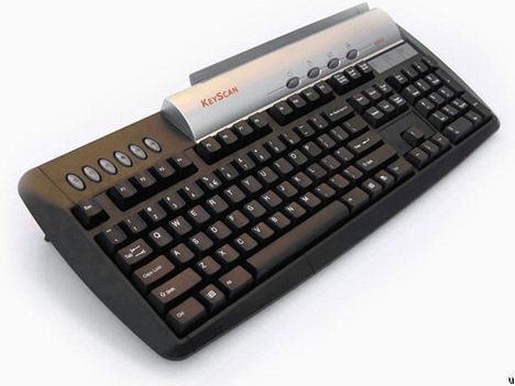 Keyscan For Typing And Scanning