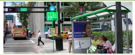 Bus Stops To Go Green In Miami