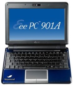 Asus Eee PC 901A Now In Azure Blue