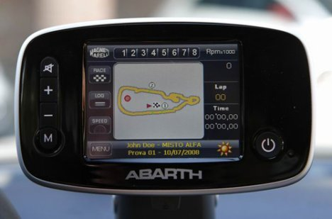 Abarth GPS Navigation System