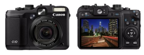 Canon Announces PowerShot G10