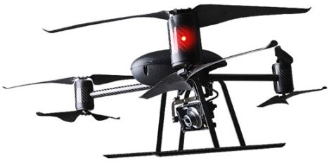 Hélicoptère Draganflyer X6 Aerial Camera