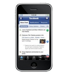 iPhone Gets Facebook 2.0