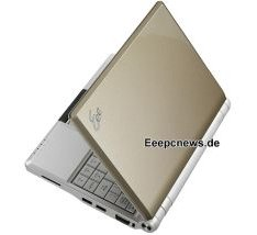 Asus Preps Gold Eee PC 900A Notebook