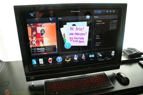 HP TouchSmart IQ800 Series PC Hands-On