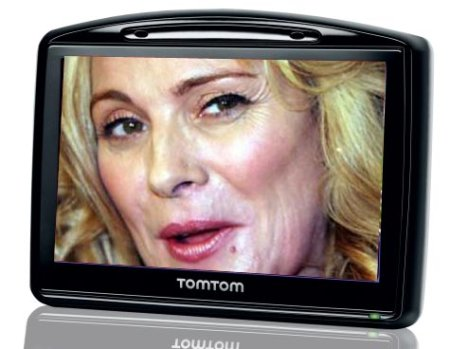 Kim Cattrall On Your GPS