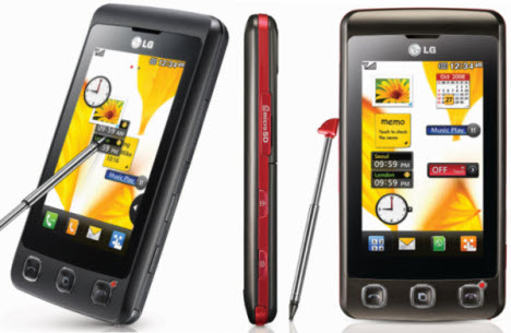 LG KP500 Touch Screen Phone Is Affordable
