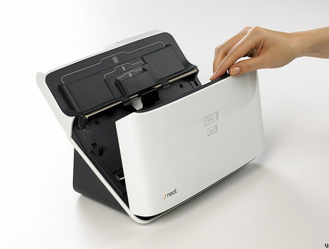 NeatDesk from Neat Company, a neat scanner for small businesses