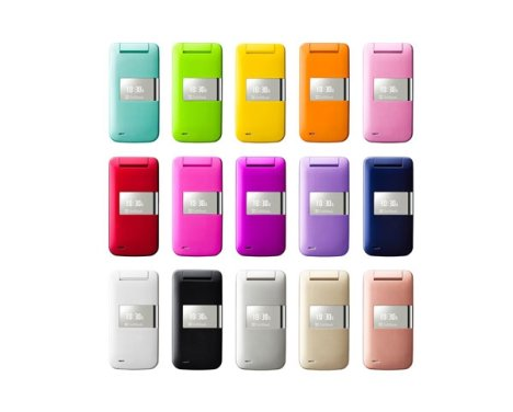 Sharp Pantone 830SH Phone Has Many Colors