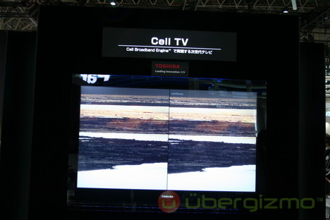 Toshiba Cell TV – video processing using a cousin of the PS3 CPU