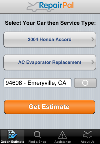 RepairPal: Roadside Assistance from the iPhone
