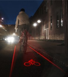LightLane Concept Brings Bike Lane With You Always