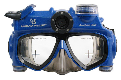 Liquid Image Scuba Mask HD320: 720P video @ 115 feet