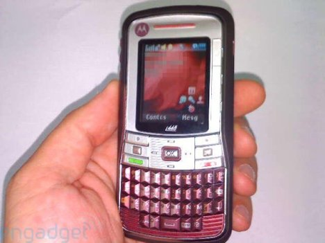 Motorola i465 iDEN Goes QWERTY