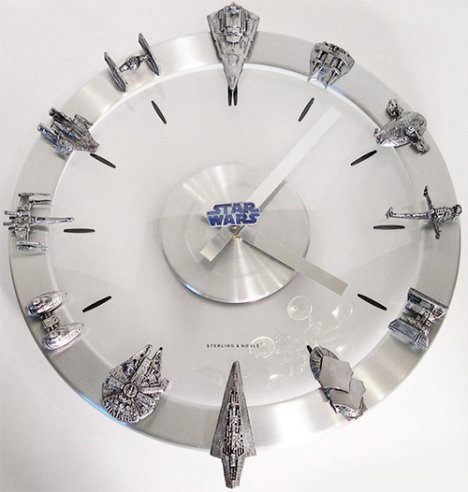 Horloge Star Wars DIY