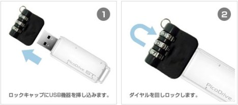Lock For USB Flash Drives