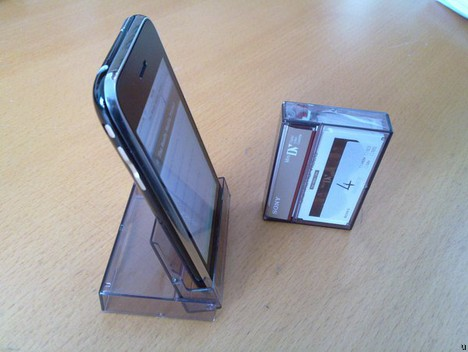 Upcycled iPhone Stand…so awesome… Check it out, posted by twitter user ...