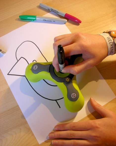 ScribbleBots Digital Drawing Tool | Ubergizmo