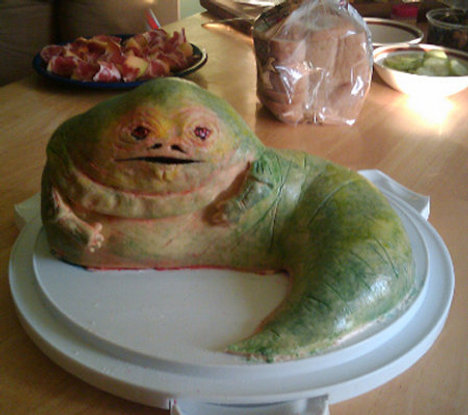 Jabba The Hut Cake