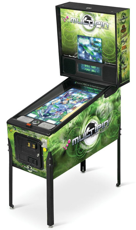Multipin Digital Pinball Machine
