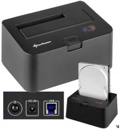 Sharkoon SATA hard drive station gets USB 3.0