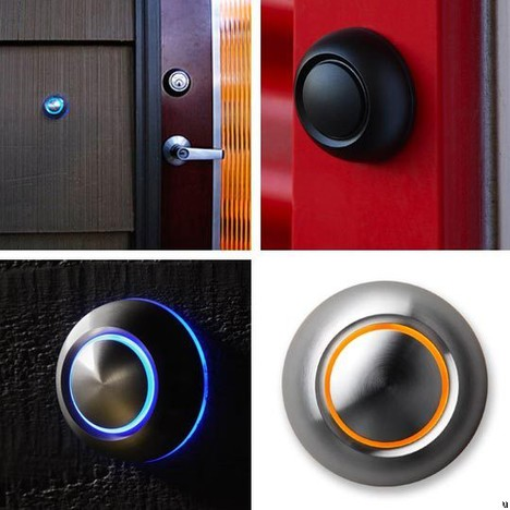 Spore doorbells add character to home