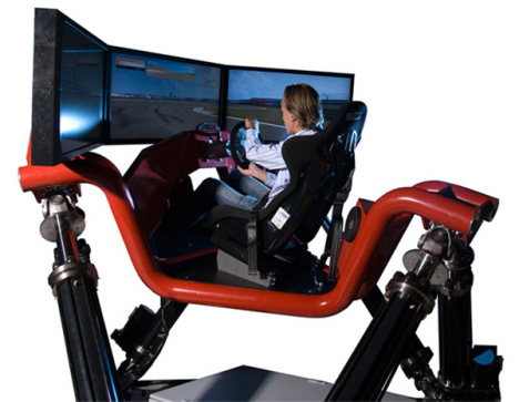 Cruden Hexatech Racing Simulator
