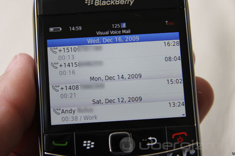 Test du Blackberry 9700