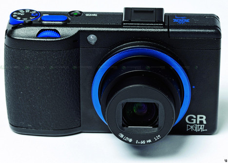 Ricoh GR Digital III camera in a special limited edition