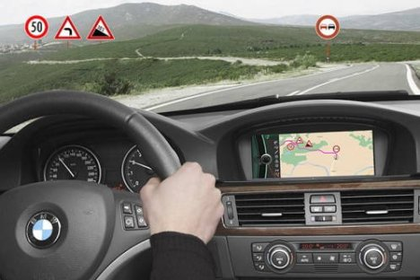 BMW Intelligent Learning Navigation System