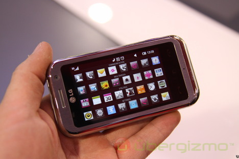 LG Arena Hands-On: LG is Getting It