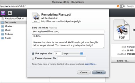 MobileMe Gets File-Sharing At Long Last
