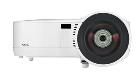 NEC Unleashes Two New Short Throw Projectors