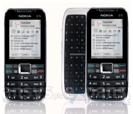 More Details From Expansys On Nokia E75