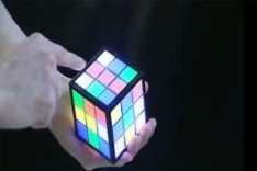 Rubiks TouchCube Lights Up The World