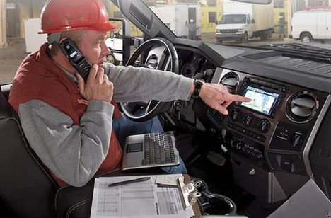 Ford Trucks to Have 3G Connected Dashboards