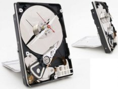 DIY HDD Clock