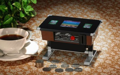 Space Invaders Piggy Bank