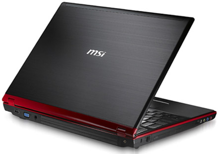 msi lance un pc gamer gx633 avec une geforce gt130m. Black Bedroom Furniture Sets. Home Design Ideas
