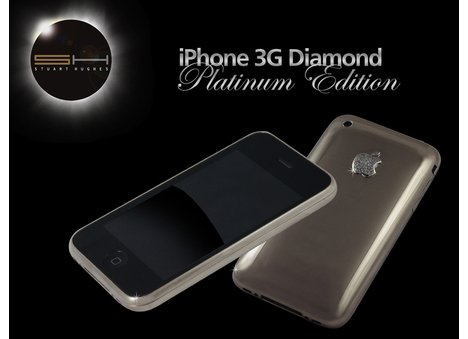 Platinum & Diamond iPhone 3G