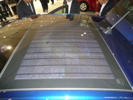 Kyocera Solar Panels On New Prius