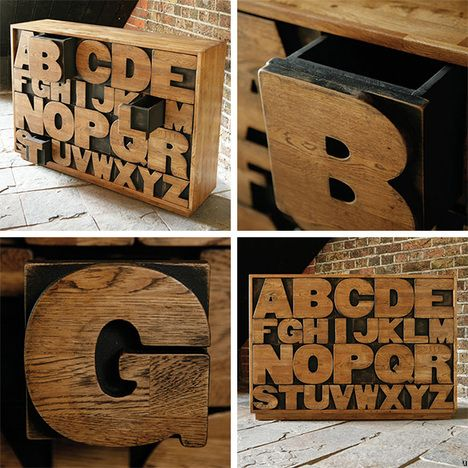 Commode ALPHABET