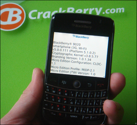 BlackBerry Onyx To Succeed Bold