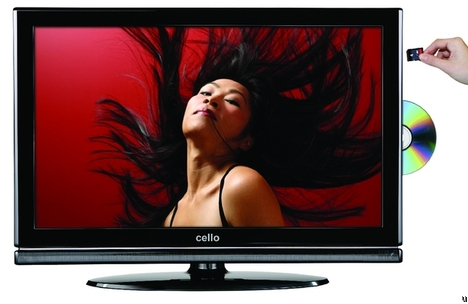 PVR Freeview TV From Cello Electronics