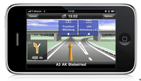 Applications GPS Pour iPhone 3.0