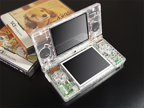 Coque DSi Transparente XCM Eye-Candy