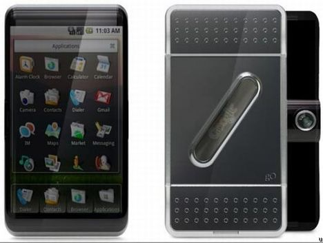 Concept Google G0 Sous Android