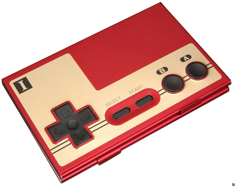 Banpresto Offers NES Controller Business Card Case